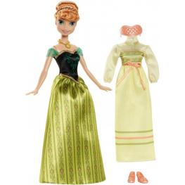 Frozen Muñeca Anna y Sus Vestidos