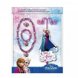 Frozen Organizador de Madera + Collar, Pulsera y Anillo Ref  Wd 16109