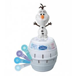 Frozen Pop-Up Olaf From The Movie Contiene 1 Olaf, 1 Barril, 24 Espadas de Hielo y 24 Pegatinas Para