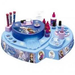 Frozen Salon de Manicura Con Adhesivos Para tus Uñas y Con Luz y Agitador de Esmalte Sim.2633