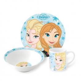 Frozen Set de Marienda Ceramica 3 Piezas Ref 78765