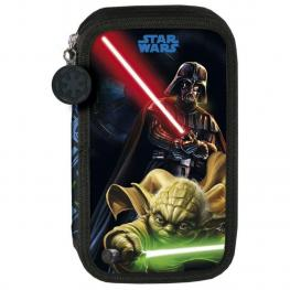 Star Wars Plumier Doble 21X12X4Cm Ref 37506