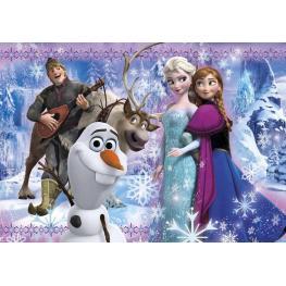Frozen Super Color Puzzle 104 Ref 27912