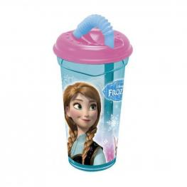 Frozen Vaso Caña Transparente 380Ml Ref 55731