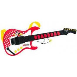 Minnie Mouse Guitarra Electronica