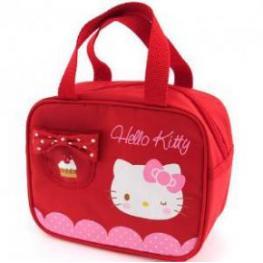 Hello Kitty Bolso Bandolera Color Rojo Ref 17411Ks