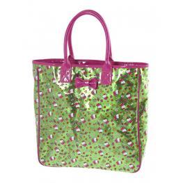 Hello Kitty Bolso Color Verde Ref 15094Ke
