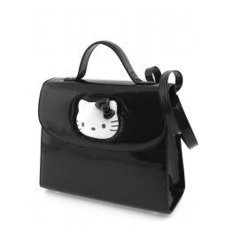 Hello Kitty Bolso Negro Ref 17291Kb