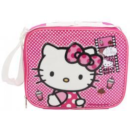 Hello Kitty Bolso Termico Portamerienda Con Botella y Taper Ref 557-61253