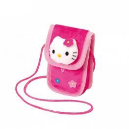 Hello Kitty Funda Para Movil de Peluche Color Rosa Ref 150756