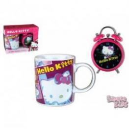 Hello Kitty Set Taza y Reloj Despertador Ref 5765690