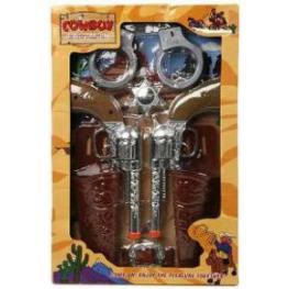 Juguete Dos Pistolones y Acc.Cowboy Ref 2225
