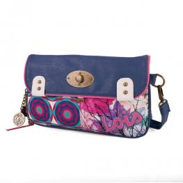 Lois Bolso Bandolera Color Azul Ref 43161-03
