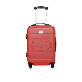 Maleta Cabina Hello Kitty Trolley de 48 Cm Rojo Ref. 85260/2Red