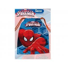 Marvel Spiderman Bolsita Para la Merienda Cm21X26 Refas8363