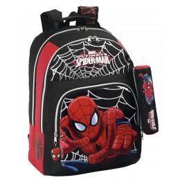 Marvel Spiderman Mochila Escolar Adaptable Carro 3 Cremalleras  Cm 40X30 Ref 611412560