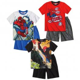 Marvel Spiderman Pijama Manga Corta