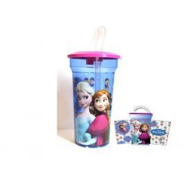 Marvel Spiderman Vaso de Plastico Transparente Con Pajita Ref000-21225