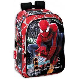 Marvel Spiedrman Mochila Escolar Adp Carro Cm42X31  Ref 21417