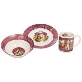 Mia And Me Set de Desayuno Porcelana