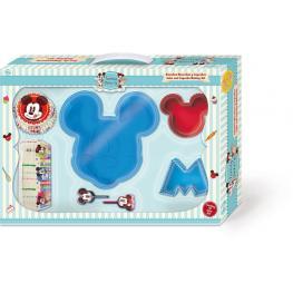 Mickey Family Bakery Set Estuche Bizcochos y Cupcakes Ref 77488