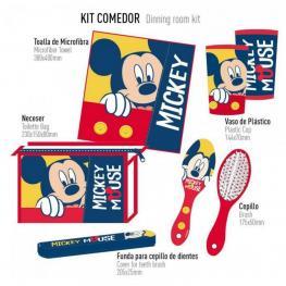 Mickey Kit Comedor Higiene Infantil Ref 25040000431