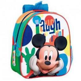 Mickey Mochila 3D Guarderia Mmch Laugh Ref 52373