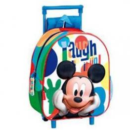 Mickey Mochila Carro Guarderia Mmch Laugh Ref 52516