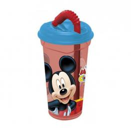 Mickey Mouse Colours Vaso Caña Transparente 380Ml Ref 56031