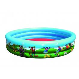 Mickey Mouse Piscina 1.22X H 25Cm 48*x H10* Ref 91007