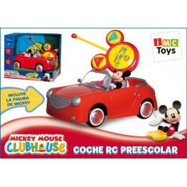 Mickey Mouse Pre-School R/c Car Ref 180062