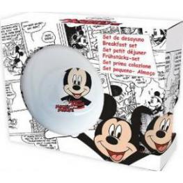 Mickey Mouse Set 3 Piezas Vajilla