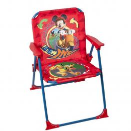 Mickey Silla Playa Tela y Metal Ref 25669