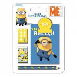 Minions Mini Kit Scrivi Cancella Ref 38453