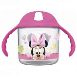 Minnie Baby Taza Entrenamiento Pp Transparente 220Ml Ref 39936