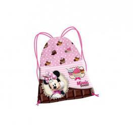 Minnie Infantil Saco Mochila 35Cm Sweet Cake Ref 51142