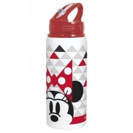 Minnie Mouse Botella Deportiva Aluminio 600Ml Ref 1411