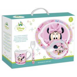 Minnie Mouse Vajilla Especial Microondas Baby Ref 39979