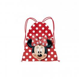 Minnie Saco Tela 35Cm. Happy
