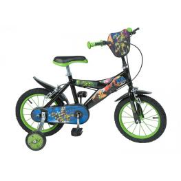 Bicicleta Tortugas Ninja