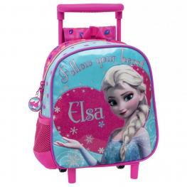 Frozen Mochila Carro Infantil 26X24 Cm