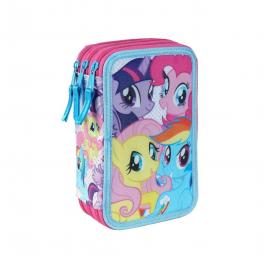 My Little Pony Plumier 3 Pisos