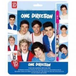 One Direction Agenda de Lujo Con Boligrafo de Gel