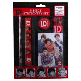 One Direction Set 5 Piezas Stationery Ref 643