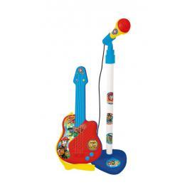 Paw Patrol Guitarra Con Microfono+3 Iten2510