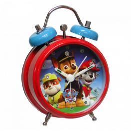 Paw Patrol Reloj Despertador Campana 9Cm  Ref 37240