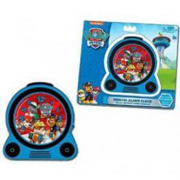 Paw Patrol Reloj + Despertador Luz y Musica Rtef 35622