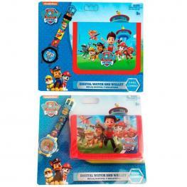 Paw Patrol Reloj Digital + Billetera Ref 35639