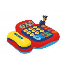 Paw Patrol Telefono Con Piano de 4 Teclas ,figura Con Sonido, Melodia Demo, Sonido de Telefono y Con