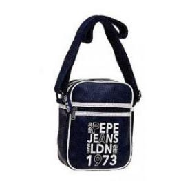 Pepe Jeans Bandolera Brand Pu Color Azul 16X21X7Cm Ref 7075651